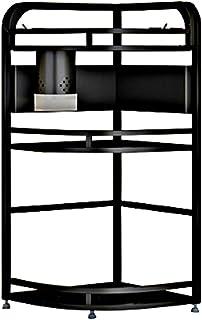 ZXKS Étagère de cuisine-étagère àépices, support de rangement triangulaire à deux types suspendu au sol multicouche, forte...