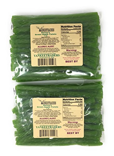 Green Apple Licorice Twists - 2 LBS