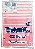 日本技研 業務屋さん ひも付き規格袋 No.12 HDH-12(200枚入)