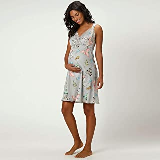 35269834f Camisola Curta Regata Cetim Maternidade Monet