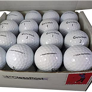Superb Quality Pearl/A (nearly new) Golf Lake Balls - 24 TaylorMade Tour Preferred