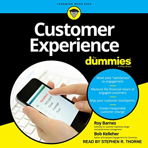 Customer Experience for Dummies cover art