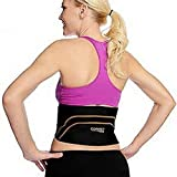 Copper Fit Back Pro As Seen On TV Compression Lower Back Support Belt Lumbar (Small/Medium Waist 28'-39')