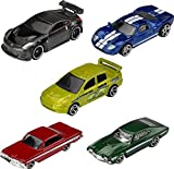 Hot Wheels Fast & Furious 5-Pack of 1:64...