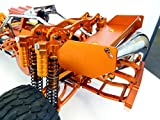 King Motor Orange Aluminum Dual Shock Conversion Kit Fits HPI Baja 5b 5T 5SC Rovan Buggy...