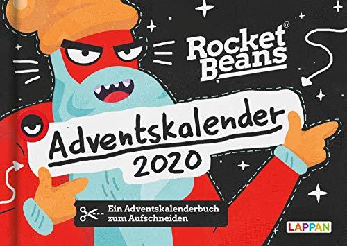 Der Rocket Beans Adventskalender 2020: 24 Doppelseiten mit weihnachtlichen Überraschungen aus dem Team der Raketenbohnen