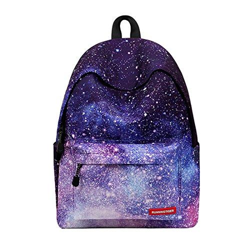 Casual geometrische Galaxy patroon schooltas vrouwen en meisjes rugzak rugzak Travel Shopping Bag
