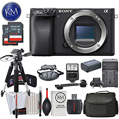 Sony a6400 Mirrorless Digital Camera Bundles from K&M