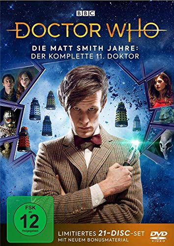 Doctor Who - Die Matt Smith Jahre (Limited Edition) (21 DVDs)