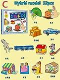 TLBBJ Juguetes artesanales Hecho a Mano Origami DIY Papel Arte Artesanía Libro 3D Papel Corte Cute Libro Artesanía Niños Juguetes Hecho A Mano Kindergarten Fun Puzzle Sencillo (Color : C)