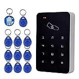 OBO HANDS RFID lector de tarjetas de control de acceso independiente...