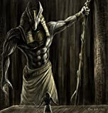 Tomorrow sunny paintings paint mythology Anubis 24x36 inch art silk poster Wall Decor