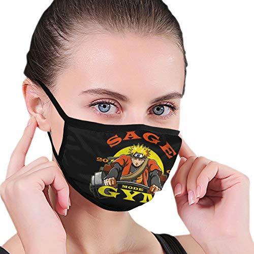Face Cover Sa-Ge Mode Gym Quality Durables Unisex Adult Black Dust Reusable