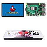 TAPDRA 10000+ Consola Arcade de Juegos Retro para Raspberry Pi 4 Modelo B (Edición 4G Ram) Admite 4 Jugadores ES Retropie con 45+ Emuladores HD 720P