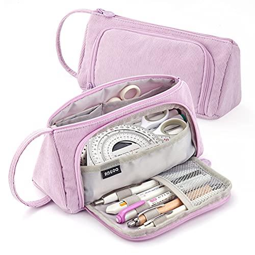 X SIM FITNESSX Pennenetui etui grote capaciteit tienermeisjes etui pennen etui potlood tas make-up tas voor school…
