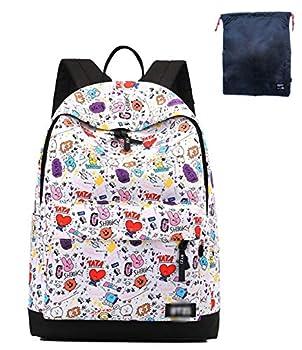 Timmor Korean Casual Comic Doll Backpack Girl s Backpack Teen Backpack Junior High School Unisex School Bag  comic