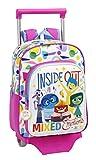 Inside out - Mochila Infantil con Ruedas (Safta 611526020)