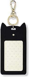 Kate Spade New York ID Badge Clip Key Chain, Black Cat