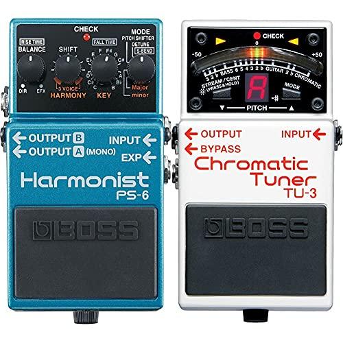 BOSS Harmonist Guitar Pedal (PS-6) & BOSS TU-3 Tuner (TU3)