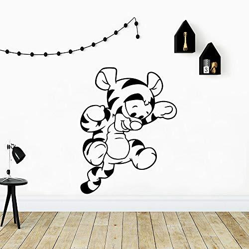 wZUN Tigre Pegatinas de Pared decoración del hogar calcomanías de Pared de Fondo calcomanías de Arte de Pared para habitación de los niños Pegatinas de Pared 33X43cm