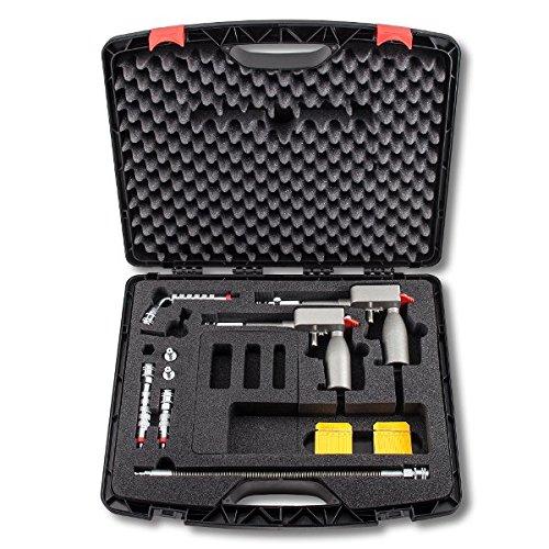 MOTOMETER 6236061101 Kompressionsdruckschreiber Standard Set für Benzin- und Dieselmotoren 17,5/40 bar