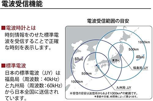 ノア精密 MAG マグ デジタル電波時計 T-77 WH-Z