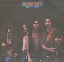 The Eagles Desperado 1976 UK vinyl LP K53008