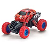 Gilumza Pull Back Cars Toys, Pull Back Vehicles Monster Trucks for Kids Off-Road Die-cast, Tiny Car Toy for Boys Girls Toddler Gifts Camouflage Series - Red