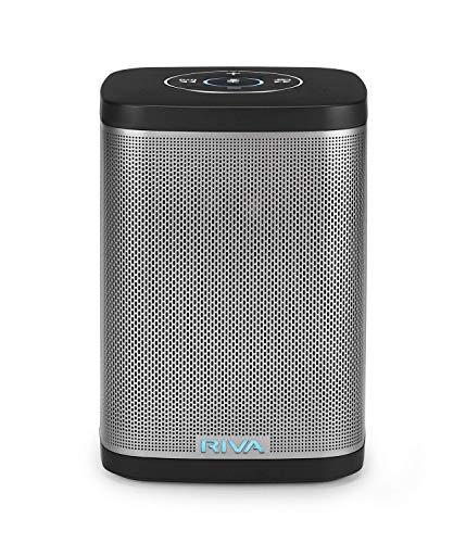 riva Concert con ALEXA integrato–Compact wireless Smart altoparlante, Nero