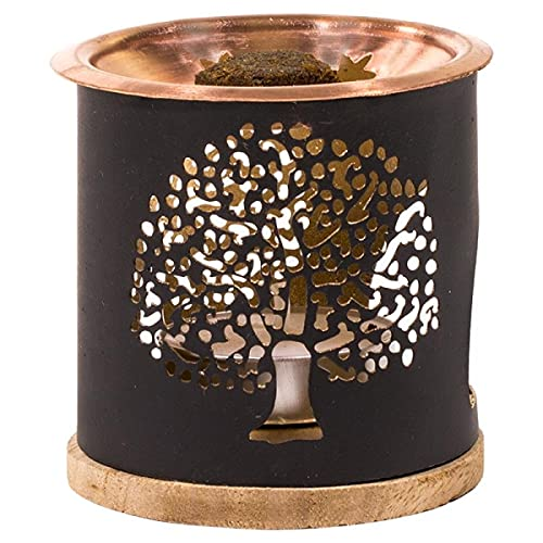 yogabox Diffusore di incensi esotici Aromafume Albero della Vita