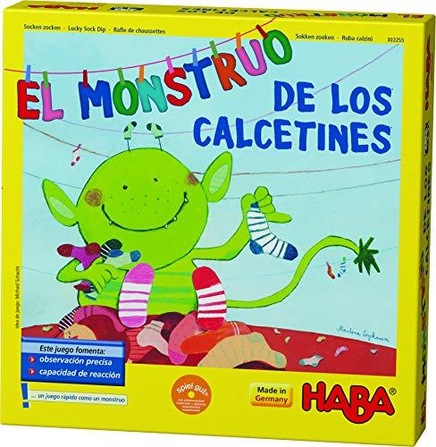HABA-El El Monstruo de los Calcetines 302255