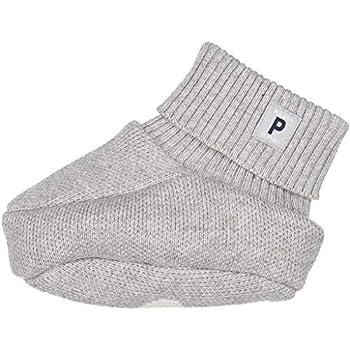 POLARN O PYRET LOVE YOU ECO COZY BOOTIES  NEWBORN  - 4-9 months/Grey Melange