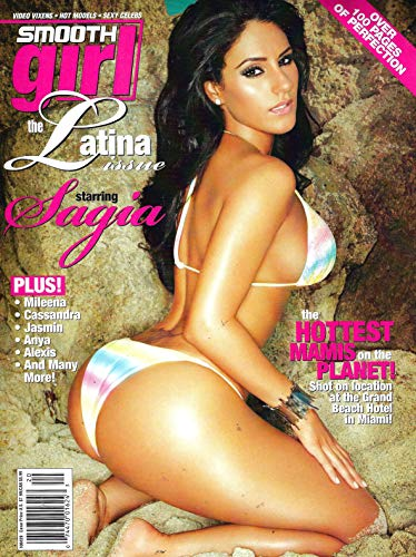 SMOOTH GIRL Magazine (Summer 2010) Issue 20, THE LATINA ISSUE, SAGIA Cover