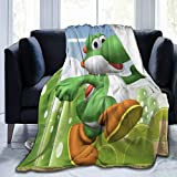Talcholar Y-os-hi Ultra-Soft Micro Fleece Blanket Home Decor Warm Throw Blanket for Couch Bed Sofa,50'' x40