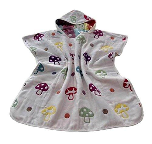 Cute Baby Hooded Bath Towel Cloak Towel Geometry