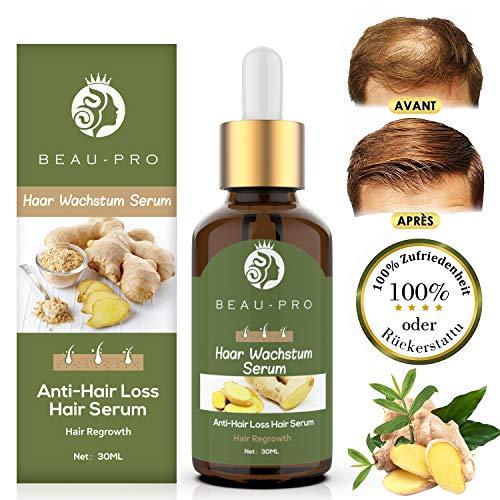 Haarwachstum Serum Beschleunigen, Haarserum, Hair Serum für haarwachstum, Anti Haarausfall für dünnes Haar, Verdickung & Nachwachsen Behandlung gegen Haarausfall Haarwurzeln stärken
