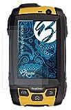 Bruni Schutzfolie kompatibel mit RugGear RG500 Folie, glasklare Bildschirmschutzfolie (2X)