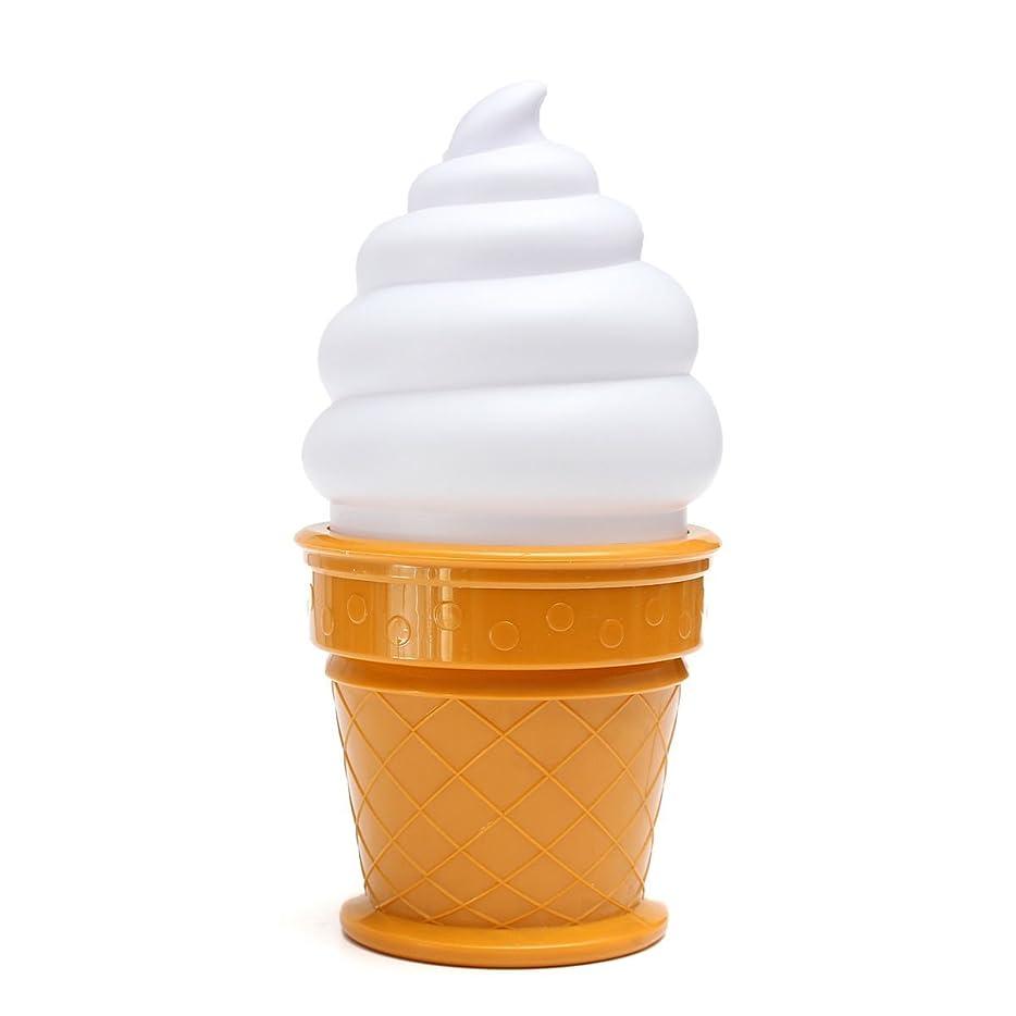 ファーザーファージュ代名詞キャンプCHENGYIDA ナイトライトアイスクリーム、デスクランプ,テーブルライト,ナイトライト,ノベルティ,Led,アイスクリーム 子供向け,錐体型,寝室用