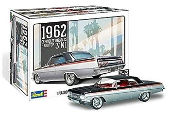 Revell 85-4466 1962 Chevrolet Impala SS Model Car Kit 1/25 Scale