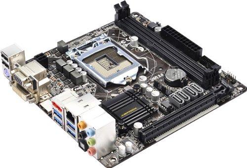 Asrock H87M-ITX Mainboard Sockel LGA 1150 (Mini ITX, Intel H87, DDR3 Speicher, 4X SATA III, HDMI, DVI, 6X USB 3.0)