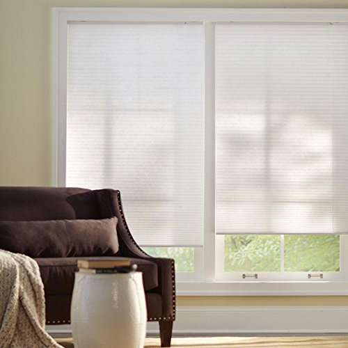 Cut-to-Width Snow Drift 9/16 in. Cellular Shade - 27 in. W x 72 in. L