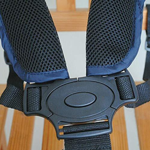 Cintura di sicurezza per bambini, cinghia di sicurezza regolabile universale a 5 punti, imbracatura con spalline per passeggino, seggiolone, passeggino