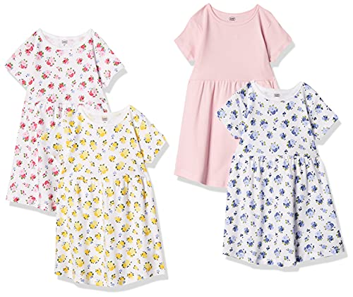 Luvable Friends Unisex Baby Girls Cotton Dress