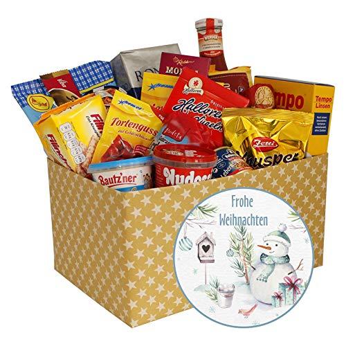 DDR Spezialitätenbox Weihnachten, DDR Geschenkbox mit DDR Ostprodukte