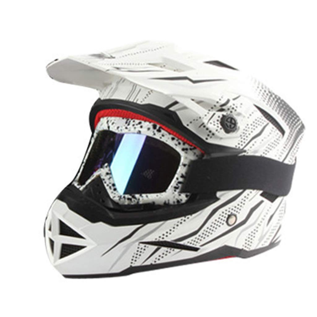 Casco de Motocross, Casco Completo de Bicicleta de montaña ...