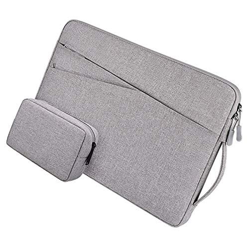 OSALADI 2 peças de capa para laptop com capa pequena compatível com MacBook Pro MacBook Air de 13,3 polegadas, cinza, Cinza claro, 26X36CM