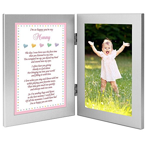 Baby Girl Frame for Mommy, Sweet Words for Mom – Add Photo