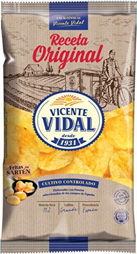 Patatas Fritas Vicente Vidal Desde 1931 Receta original, 1 u