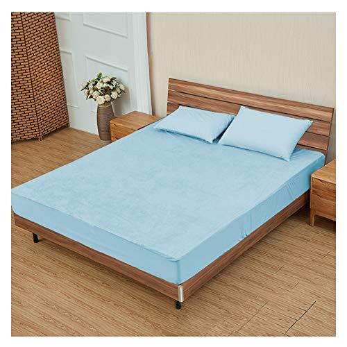 GELing Funda de colchón antichinches, Impermeable, Transpirable e ignifuga,1,90X200X30cm