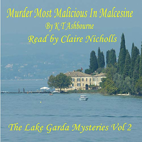 Murder Most Malicious in Malcesine audiobook cover art